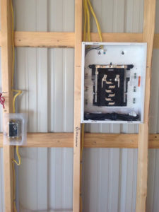 Installed fuse box
